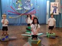 Спортивно-музыкальные развлечения ко Дню Защитника Отечества